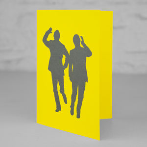 Morecambe And Wise Sunshine Greetings Card
