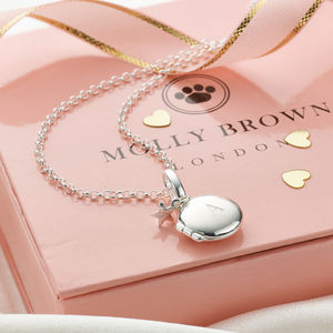 Personalised My First Locket Small - wedding jewellery