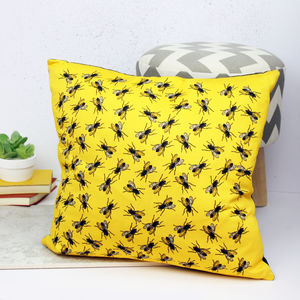 Fly Du Soleil Housefly Cushion - patterned cushions