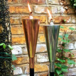 Copper Olympic Oil Torch - outdoor lights