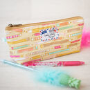 Pencil Case Gift Doodle Pencils Back To School Bag