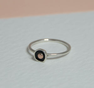 Touch Of Gold Simple Ring - rings