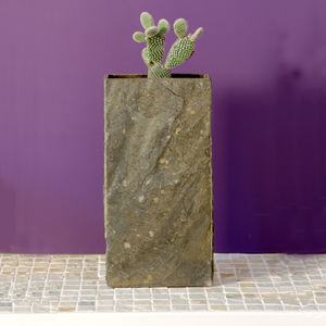 Surmi Tall Natural Slate Vase