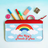 Personalised Rainbow Teacher Pencil Case - what's new