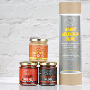 Build Your Own Sauce And Chutney Gift Set - savouries
