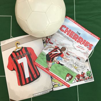 Personalised Afc Bournemouth Football Club Comic Book