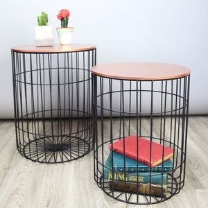 Set Of Wire Tables - furniture