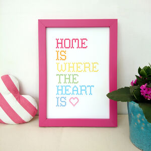'Home Is Where The Heart Is' Print