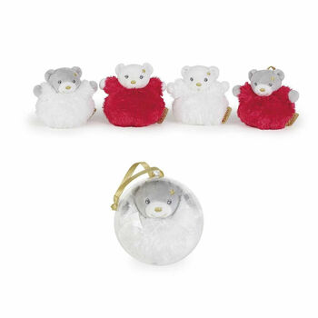 Christmas Teddy Baubles
