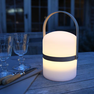 Salcombe Rechargeable Garden Lantern - new in garden