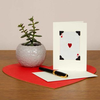 Ace Of Hearts Mother's Day Card