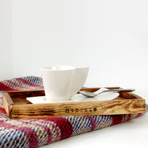 Wooden Coffee Tray - tableware