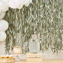 Leaf Ribbon Backdrop