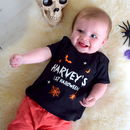 Personalised First Halloween Baby Top