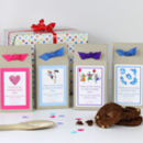 Personalised Chocolate Chip Cookie Mix Party Bags