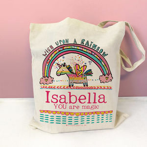 Personalised Magic Unicorn Bag - bags, purses & wallets
