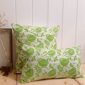 Robin And Wren Cotton Cushions