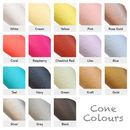 Cone colour choices
