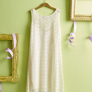 Pure Silk Lace Dress