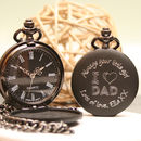 Personalised Pocket Watch I Love Dad