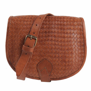 Sam Woven Saddle Bag
