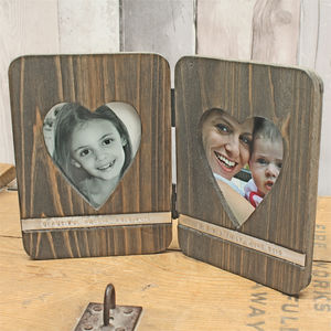 Personalised Two Heart Folding Frame - view all anniversary gifts