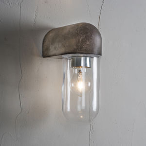 Concrete Outdoor Wall Light - lights & lanterns