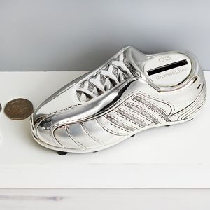 Personallised Football Boot Moneybox