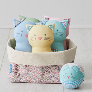 Cat And Mouse Soft Skittles Set - traditional toys & games