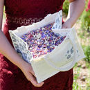 50 Handfuls Of Biodegradable Confetti In Hessian Bag
