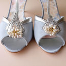 Bud Pearl Bridal Shoe Clips