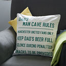 Personalised Man Cave Cushion