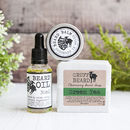 Beard Oil, Balm And Conditioning Soap Set