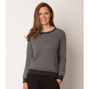 Cashmere Blend Striped Jumper