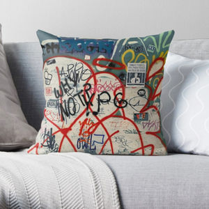 Graffiti Cushion