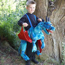 Ride On Dragon Costume: 3rd/4th/5th Birthday Gift