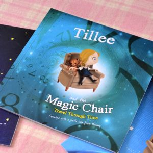 Personalised Children's Book: Travel Through Time - books