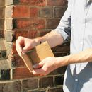 Sustainable Brown Paper Style Wallet