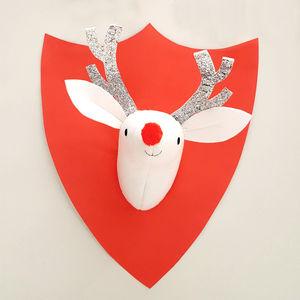 Reindeer Felt Wall Decoration - christmas home