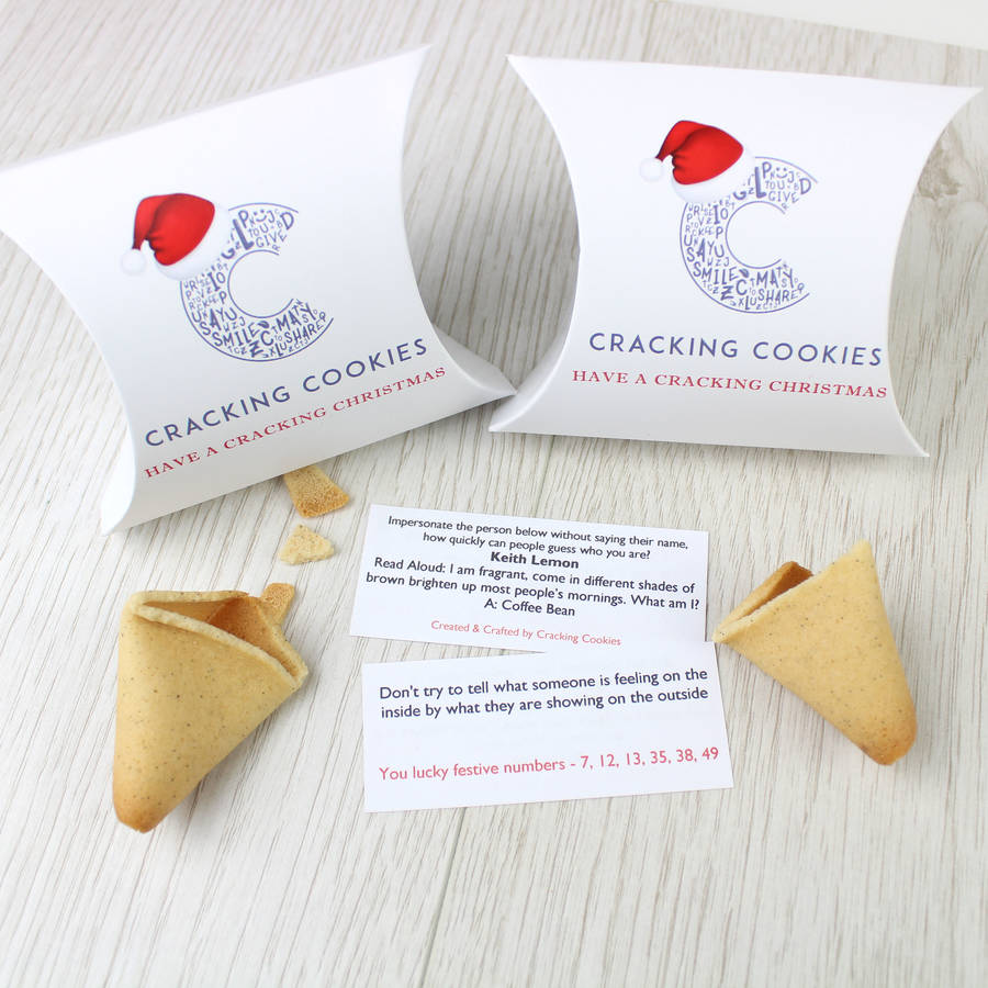 Fortune Cookie Cracker Alternative By Cracking Cookies