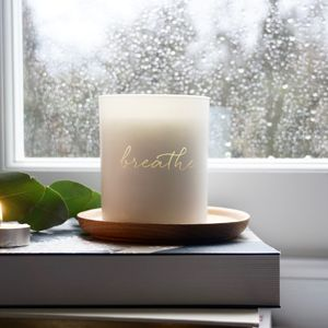 Breathe Scented Candle - wellness guru