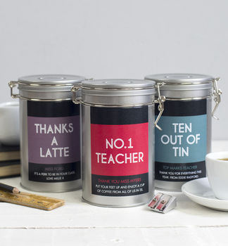 teacher gift personalised