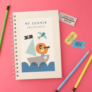 Personalised Children's Notebook