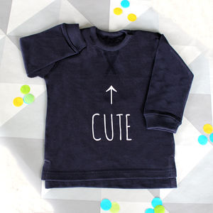 Cute Sweatshirt - gifts for babies