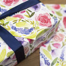 Floral Watercolour Wrapping Paper Set