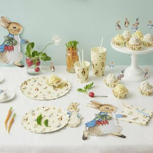 Peter Rabbit Paper Plates Set Of 12