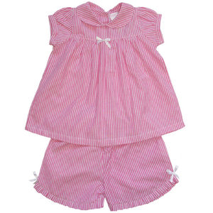 Summer Stripe Shortie Pyjamas - nightwear