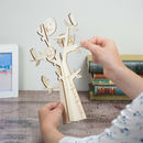 Personalised Wooden Family Tree Gift For Grandparents