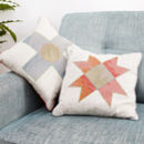 Limited Edition Applique Linen Cushions