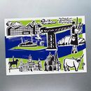 Six Features Of Glasgow Postcards